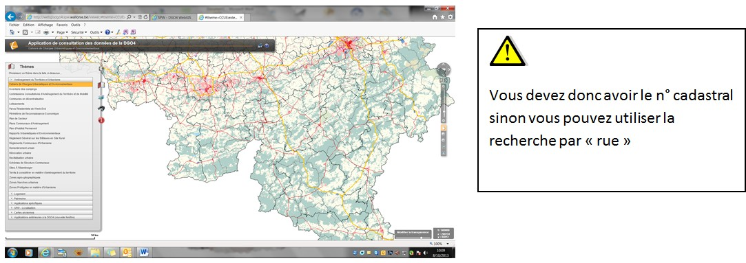 Comment obtenir un plan cadastral sur le site de la r gion for Comment obtenir des plans