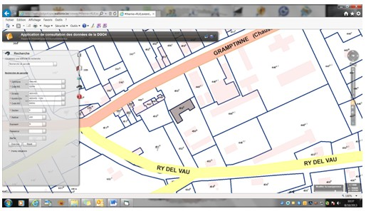 Comment obtenir un plan cadastral sur le site de la r gion for Obtenir des plans